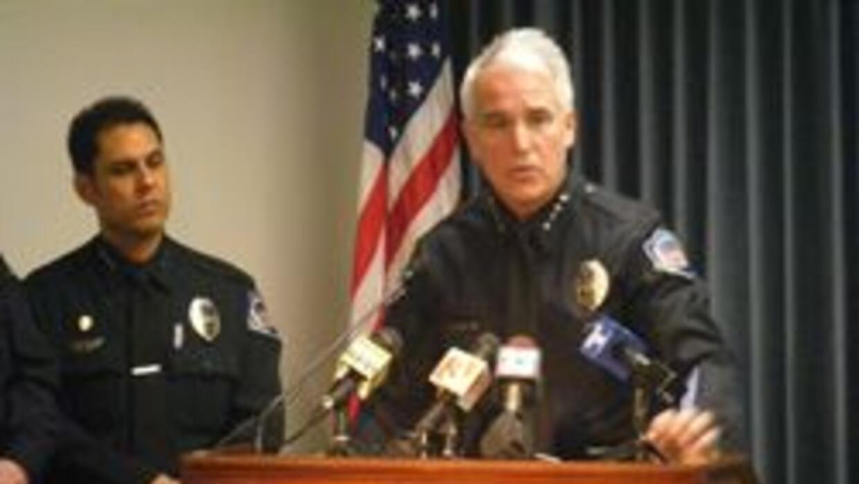 Jefe de policia de Mesa George Gascon