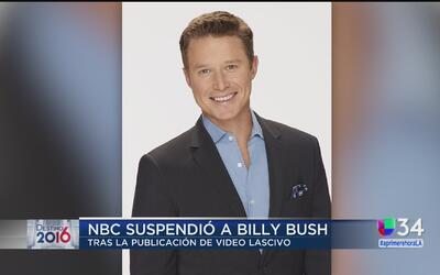 Billy Bush fue suspendido en conexión al video polémico de Trump