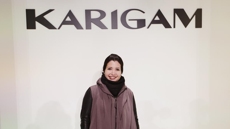 La marca de la venezolana Karina Gámez busca consolidar su voz minimalis...