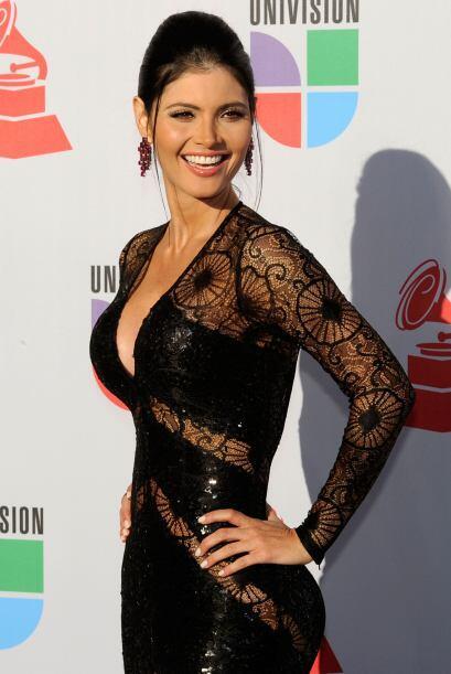 La bellísima venezolana ha deslumbrado a medio mundo con su porte...