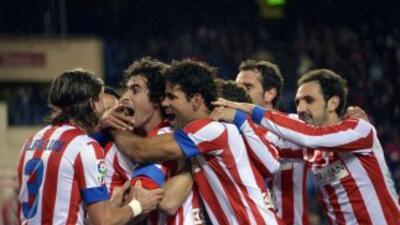 Atlético de Madrid cerró su sensacional primera vuelta con el decimocuar...