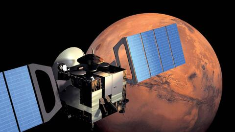Intrépidos intentan llegar a Marte
