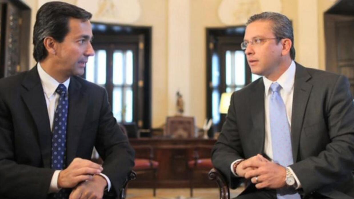 Luis Fortuño y Alejandro García Padilla