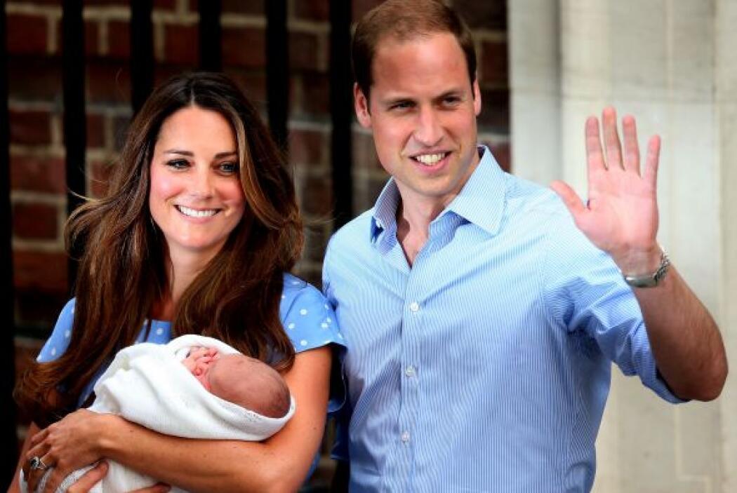 El pequeño George nació el 22 de Julio del 2013 y desde entonces se ha e...