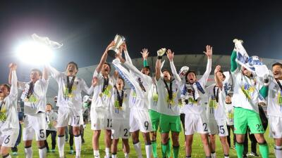 Japón celebra el campeonato asiático Sub-23