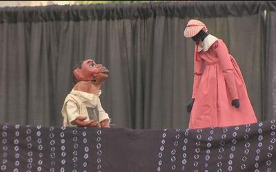 El teatro de marionetas fue presentado en el Festival Navy Pier