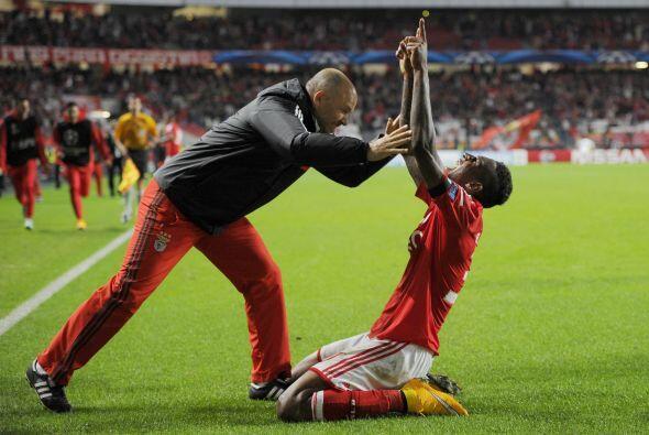 Con gol de Anderson Talisca, el Benfica condiguió su primer triun...
