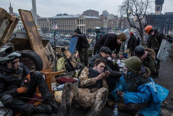 Las lealtades de Ucrania están divididas entre Rusia y Occidente.