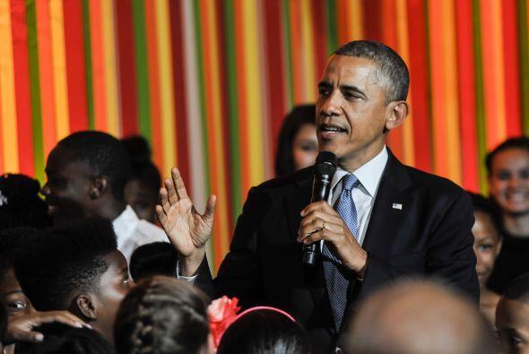 Además de la aparición sorpresa del presidente estadounide...