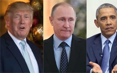 Rusia y Putin, el centro de la discordia entre Barack Obama y Donald Trump