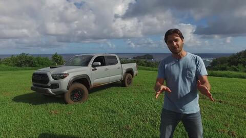 Toyota Tacoma TRD Pro 2017 - Prueba A Bordo Completa