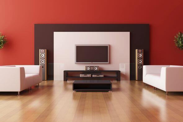 2. No hacerle lugar a la TV. Es común pasarlo por alto al decorar...