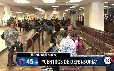En Un Minuto Houston: Consultados de México lanzan centros de defensoría...