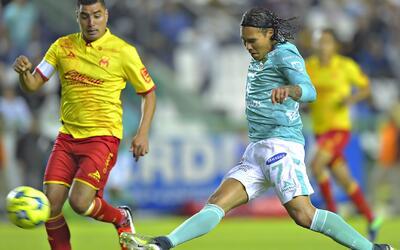 León goleó 3-0 a Monarcas Morelia en la Copa MX