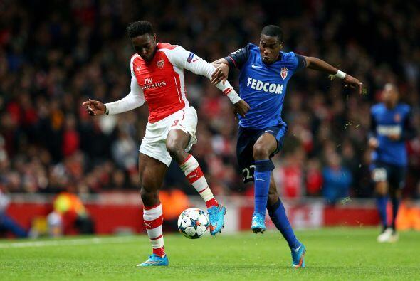 Arsenal lograría hacerse presente en el marcador en un intento de...