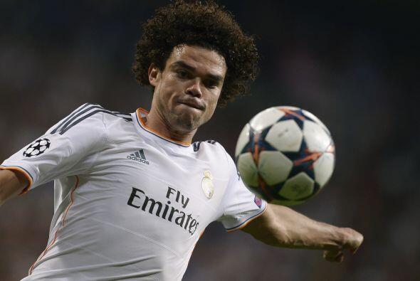 Pepe (9): En la línea del partido de ida, el central portugu&eacu...