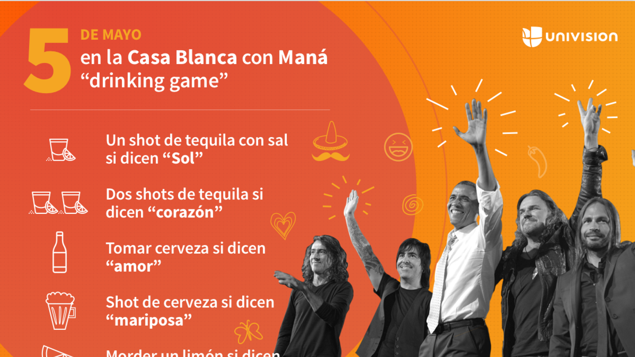 Spice up your day with Univision's Cinco de Mayo drinking game