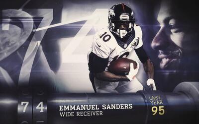 Top 100 Jugadores del 2016: (Lugar 74) WR Emmanuel Sanders