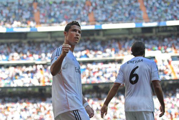Y Cristiano Ronaldo, el general de este Madrid, era el autor de ese remate.