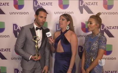 Resumen de los ganadores de premios Tv y Novelas, Angelique Boyer y Seba...