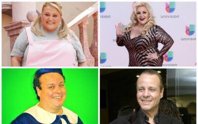 Actores que bajaron de peso