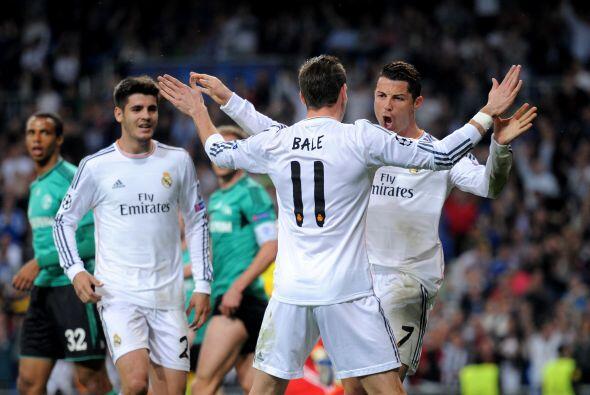 El portugués agradeció al galés Gareth Bale, el fut...