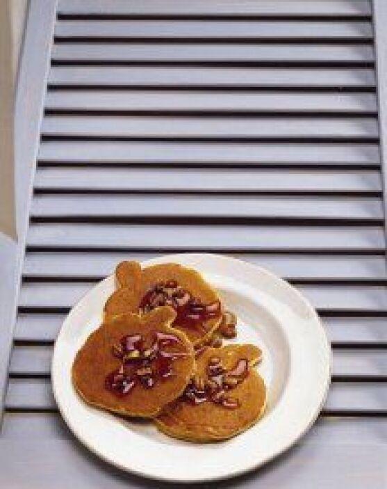 PANCAKES DE CALABAZA - El desayuno en la época de Halloween podrás varia...