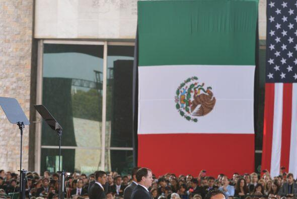 """El mandatario estadounidense considera que """"un nuevo México está emergie..."""