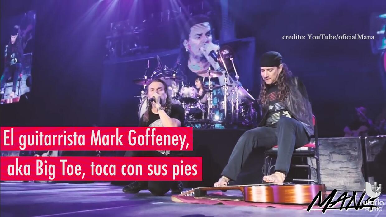 Maná invita a guitarrista sin brazos a tocar en su concierto