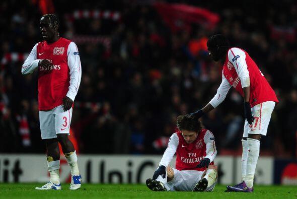 Las esperanzas de los 'Gunners' quedaron fuera y tendrán que repl...