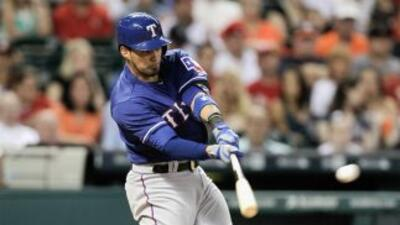 Disfruta del poder en la caja de batero de los Rangers de Texas