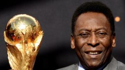 El rey Pelé.