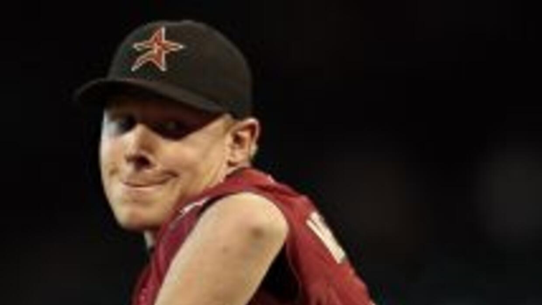 Mark Melancon tuvo un desempeño intermitente con los Astros.