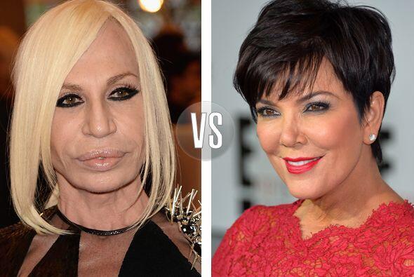 No crean que Donatella Versace lleva en la tierra desde la era de los di...
