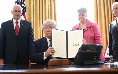 ¿Qué significa y qué implicaciones trae la orden ejecutiva de Trump sobr...