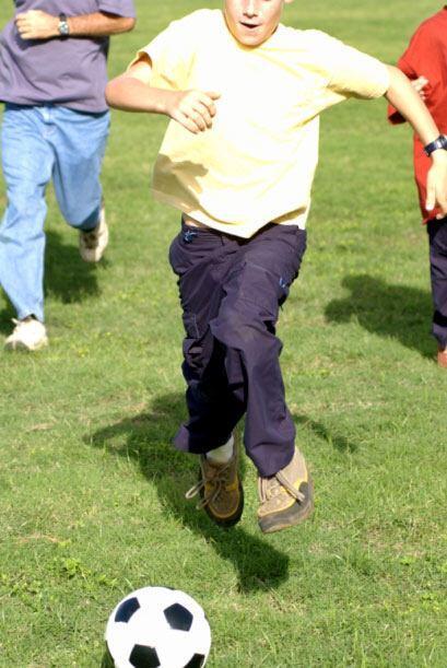 Los estudiantes tienen la  oportunidad de jugar al aire libre todo los d...