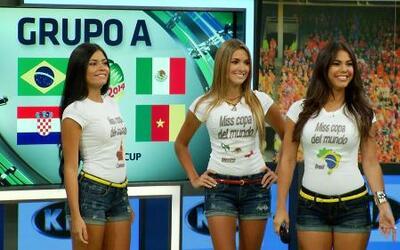 Perfiles de Miss Copa del Mundo Grupo A