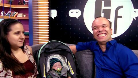 Mira la que se armó detrás de cámaras con la visita del bebé de Carlitos...