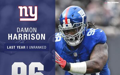 #96: Damon Harrison (DT, Giants) | Top 100 jugadores 2017