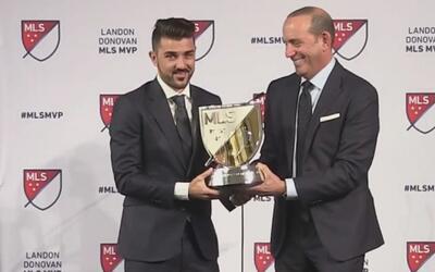 David Villa fue elegido como el 'Jugador Más Valioso' de la MLS