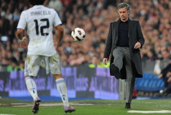 Mourinho y su pase a Marcelo.