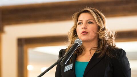 Elizabeth Guzman está compitiendo por el distrito 31 de la C&aacu...