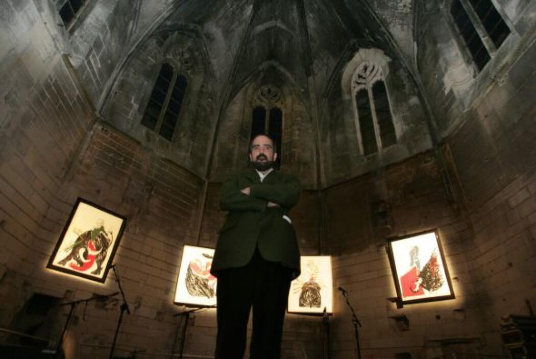 La exposición 'México al filo' del artista plástico Emiliano Gironella m...