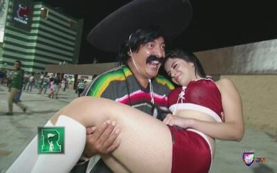 Kevin Arnulfo no perdió el tiempo en el Chivas-Santos
