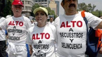 La reciente marcha contra la inseguridad de México tuvo poca convocatoria.