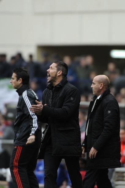 Pero el entrenador del 'Atleti', Diego Simeone, exigía que sus dirigidos...