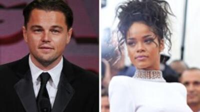 Dicen que el romance entre Rihanna y Leonardo DiCaprio es muy casual y q...