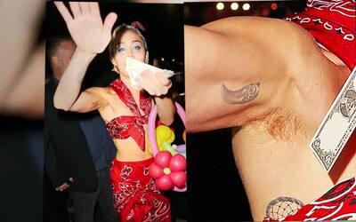 ¡Asco! Miley Cyrus mostró los pelos de la axila que se depiló