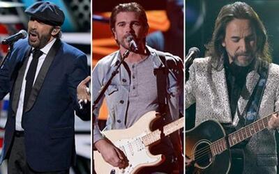 Estos espectaculares músicos llenaron el escenario de Premio Lo Nuestro...