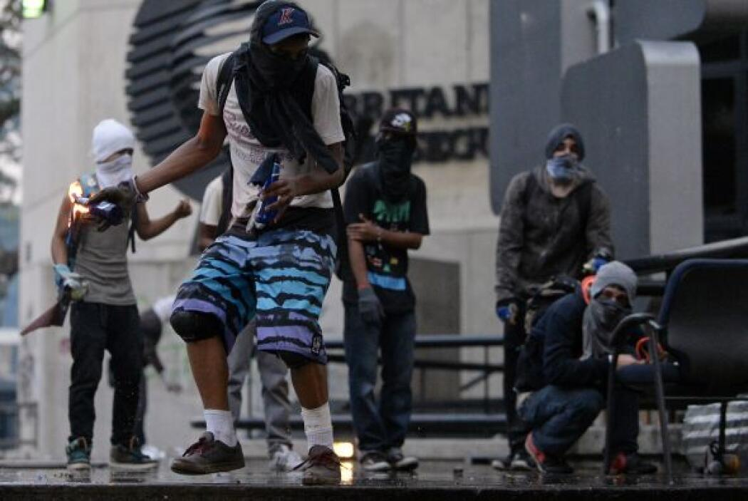 Los seguidores del Gobierno chavista y los opositores volvieron a salir...